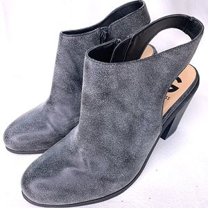 G by GUESS booties Gray